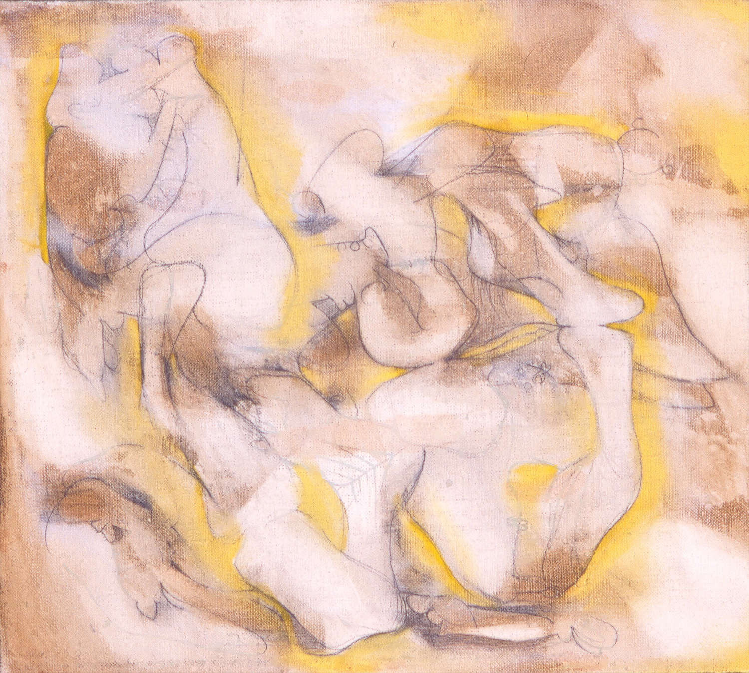 """Untitled , 2002   Oil on linen   12 x 14"""""""