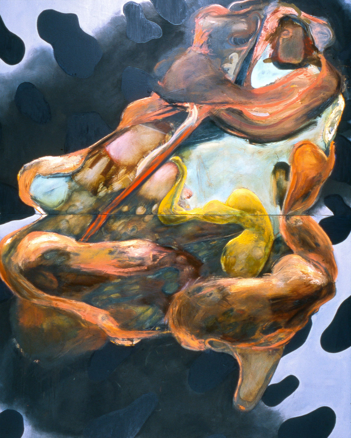 Untitled , 2004   Oil on canvas   120 x 96""