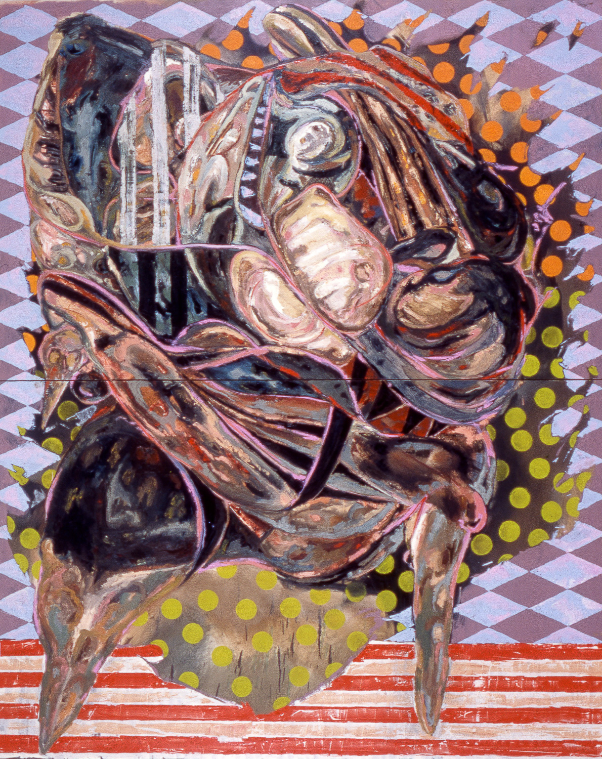 The Great Pretender , 2004   Oil on canvas   120 x 96""