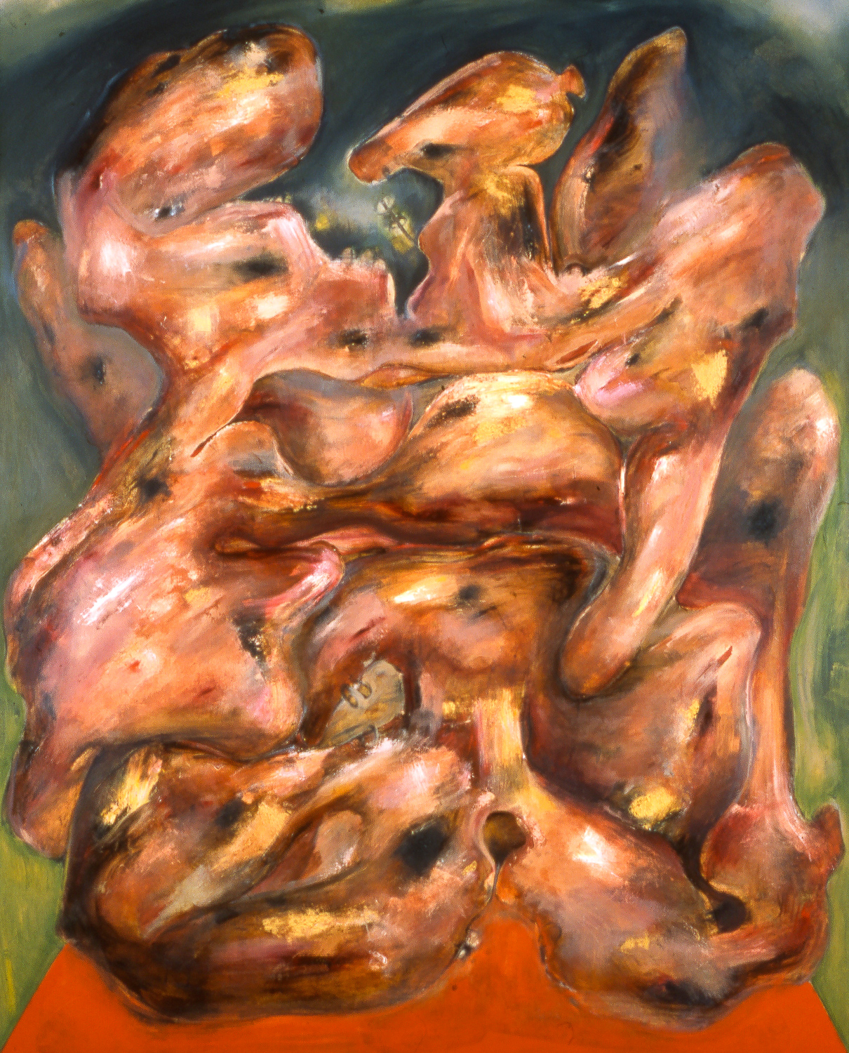 """Alter , 2003   Oil on canvas   92 x 74"""""""