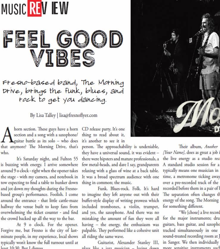 Feel Good Vibes (Fresno Flyer snippet).JPG