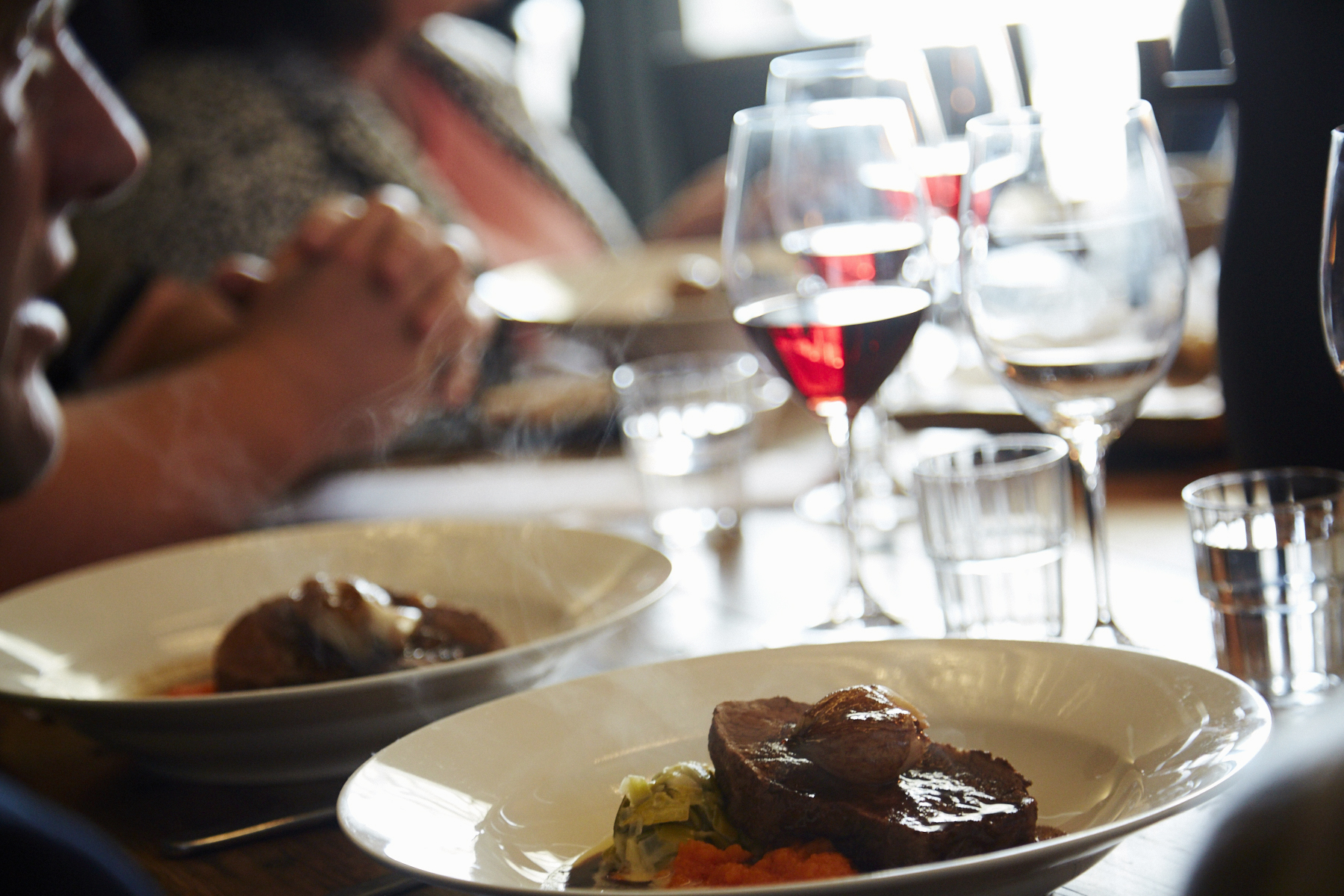 Tasmanian beef is outstanding, enjoy with a glass of Pinot Noir