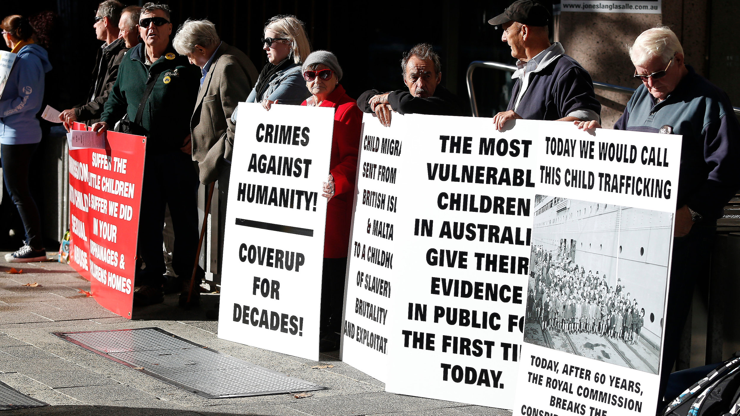 Outside the hearings of the Royal Commission into Institutional Responses to Child Sexual Abuse in Perth - AAP-1.jpg