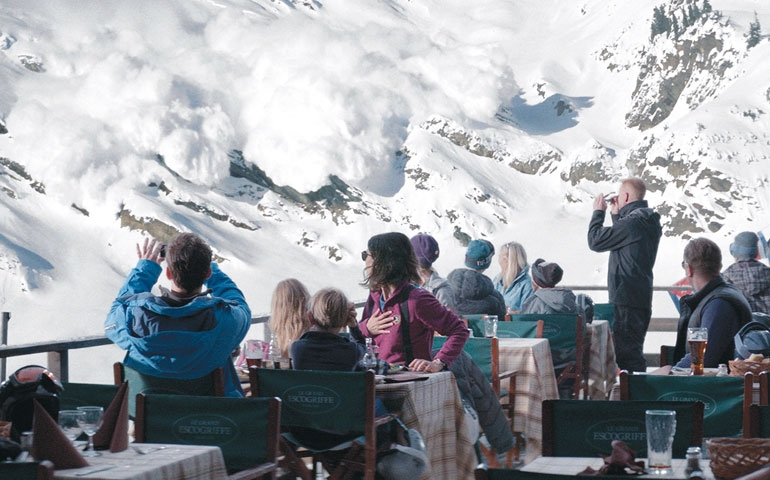 A still from  Force Majeure  (2015: Dir. Ruben Östlund).