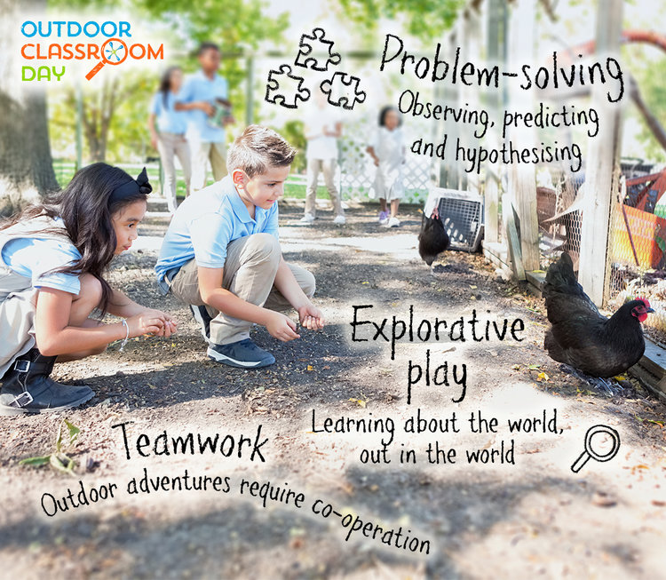Join the Outdoor Classroom Day campaign on 6 October!