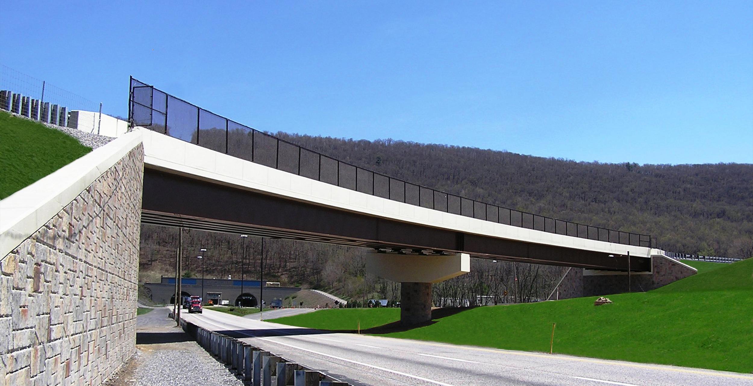 Bridge Nos. B-465A & B-465 at Mileposts 197.19 & 197.20