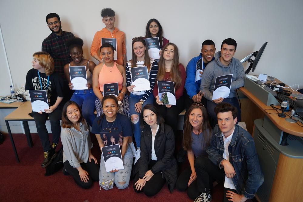 Stoke Newington School graduation