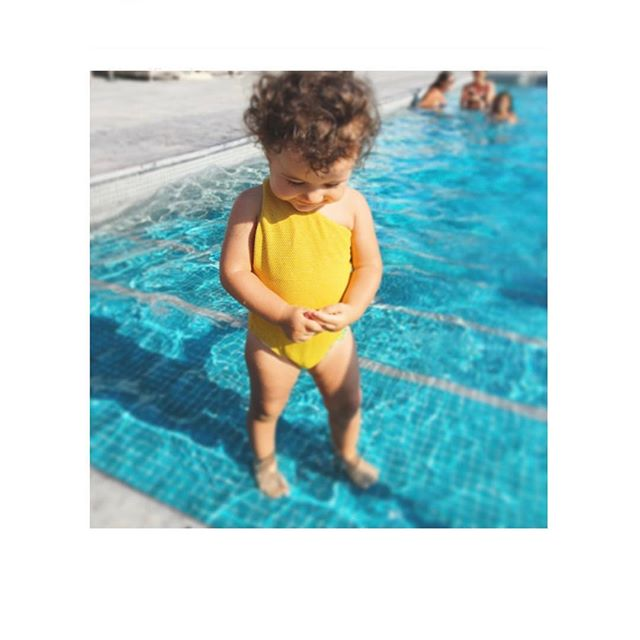 Baby girl 🌞 #available #newcollection #modelMarie #kidscollection #jillswimwear 🌎