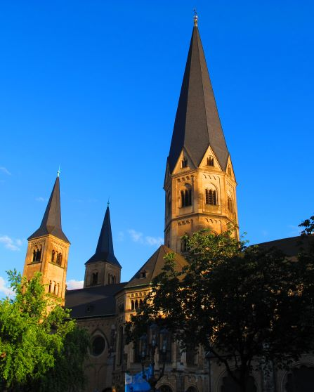 Photo Credit:    Luis Barquin-Valle; Photo of Bonn Cathedral in Bonn, Germany