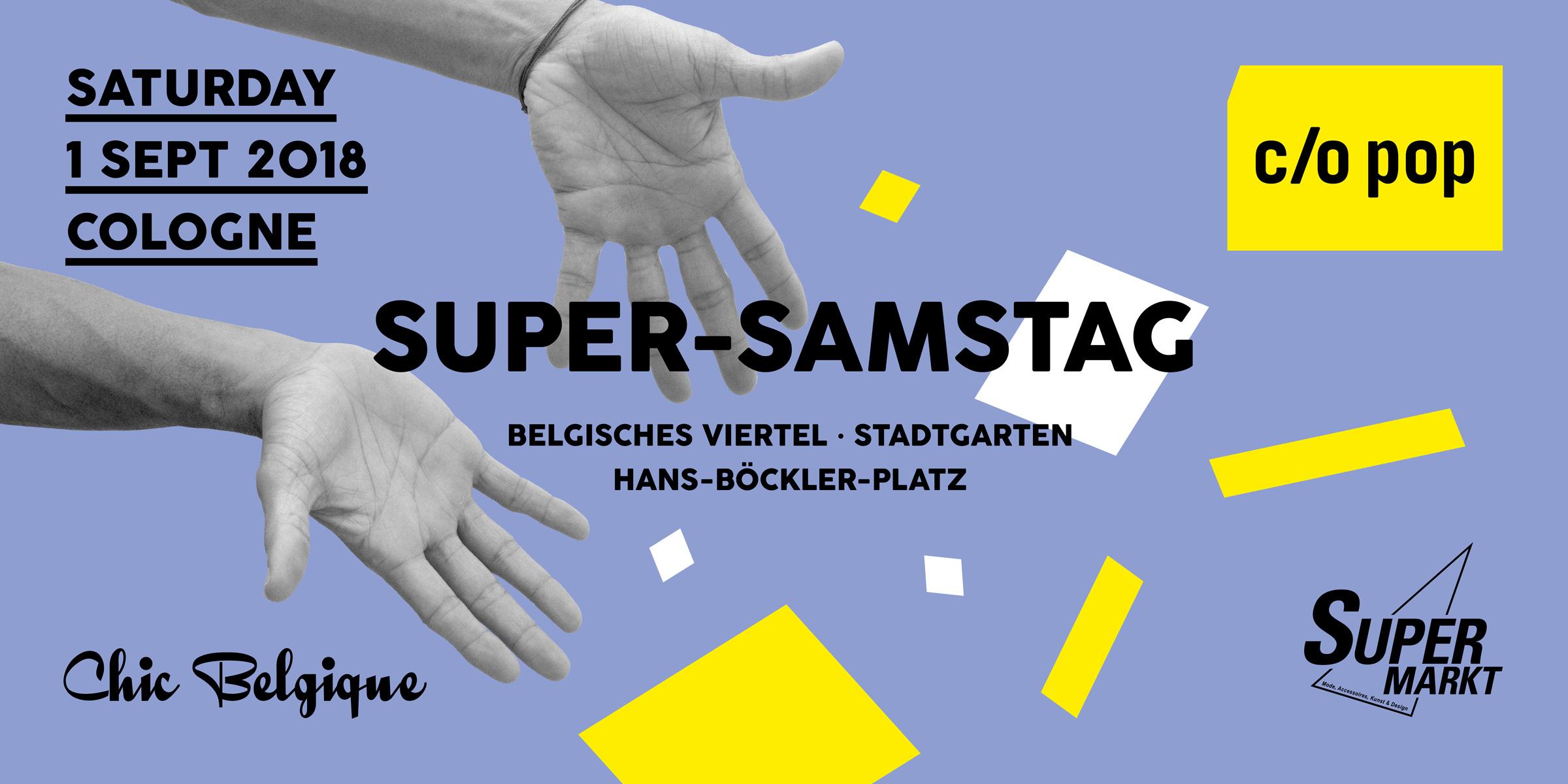 Chic Belgique c/o pop Super-Samstag