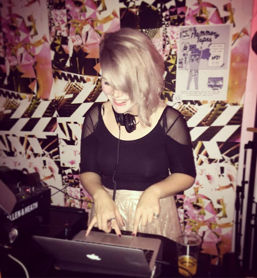 Cheri on the decks at Mammory Tapes club night