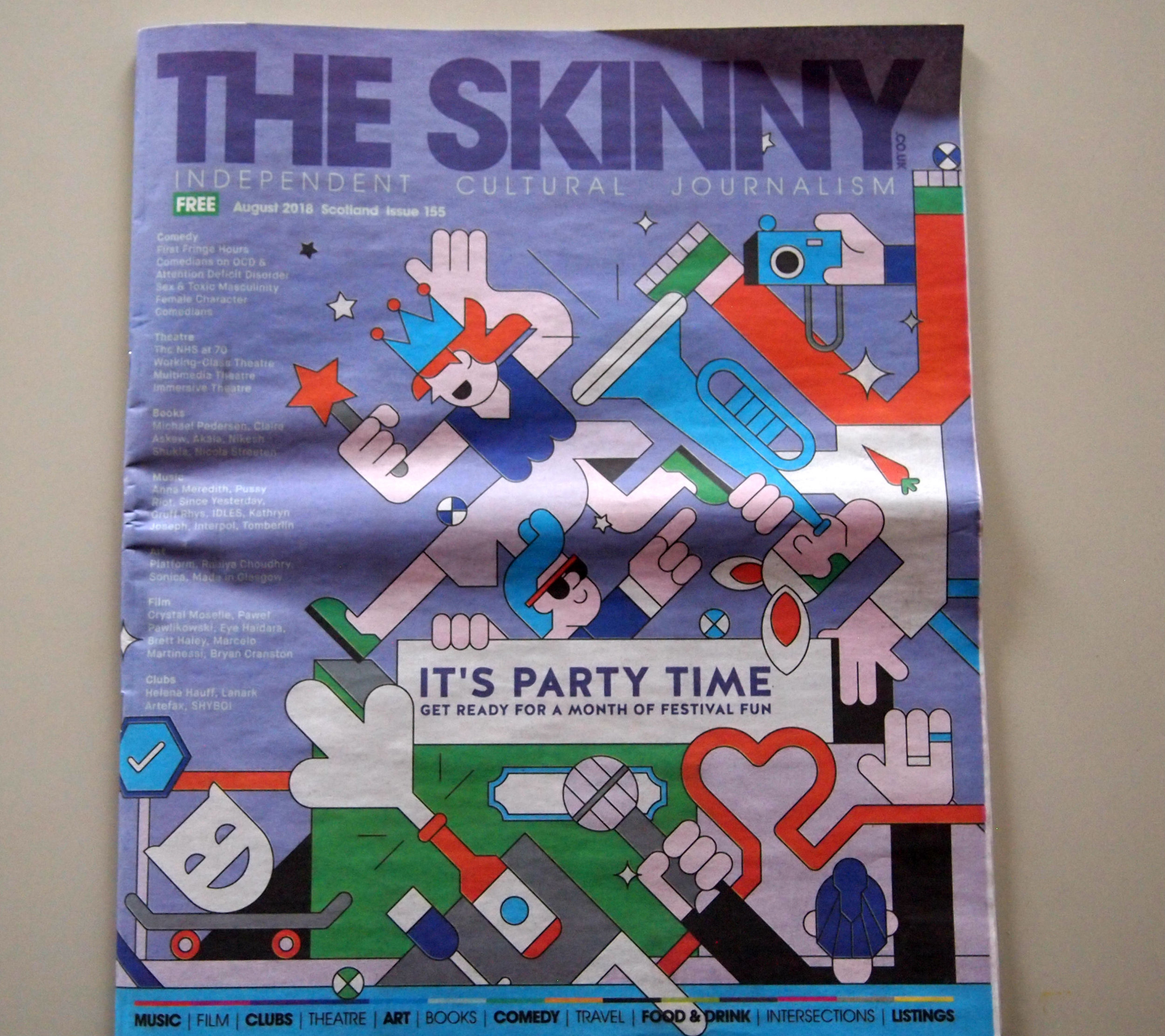 The Skinny magazine, Mitski review Cheri Amour