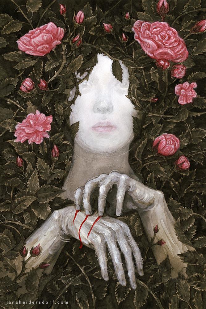 I Live In A Rose Garden