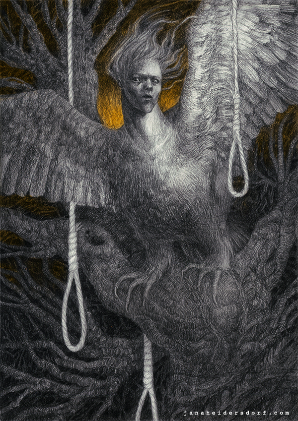 The Harpy In The Forest Of The Self-Murderers