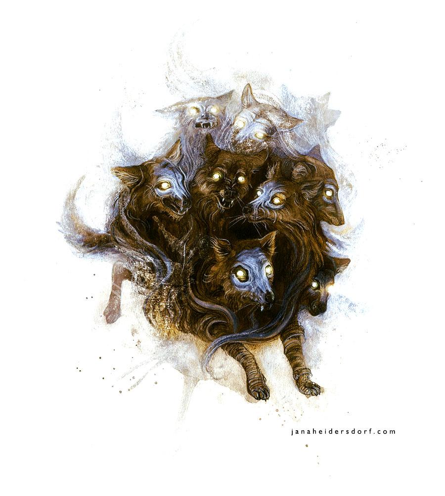 9-headed Wolf