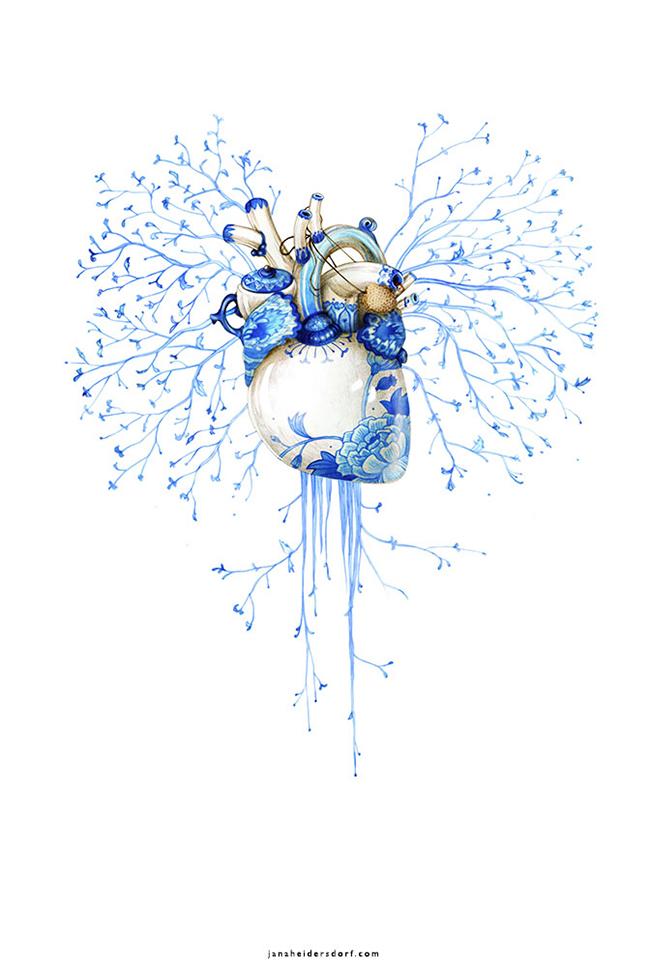 Porcelain Heart (Inner Workings)