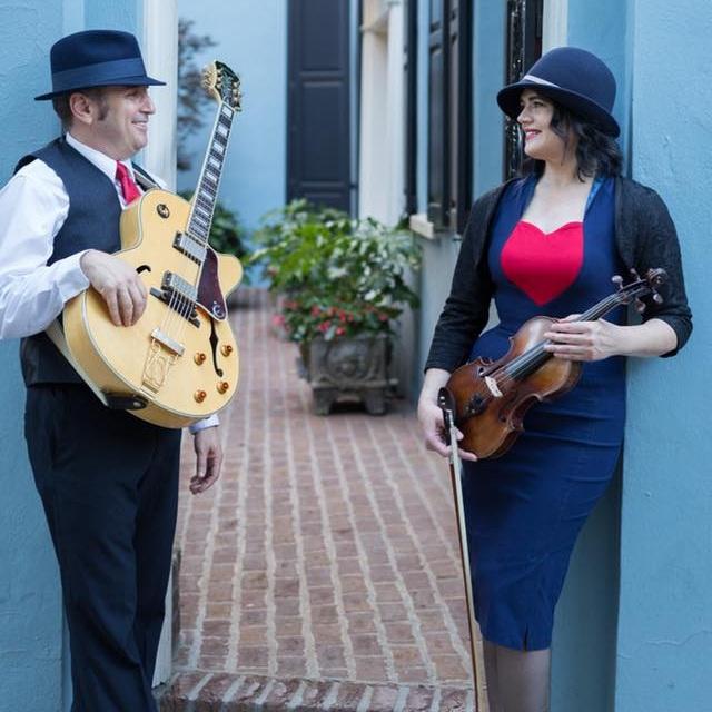 Tesoro Jazz Duo (Violin and Guitar)   Gypsy Jazz, Standards, Pop, Latin, Celtic