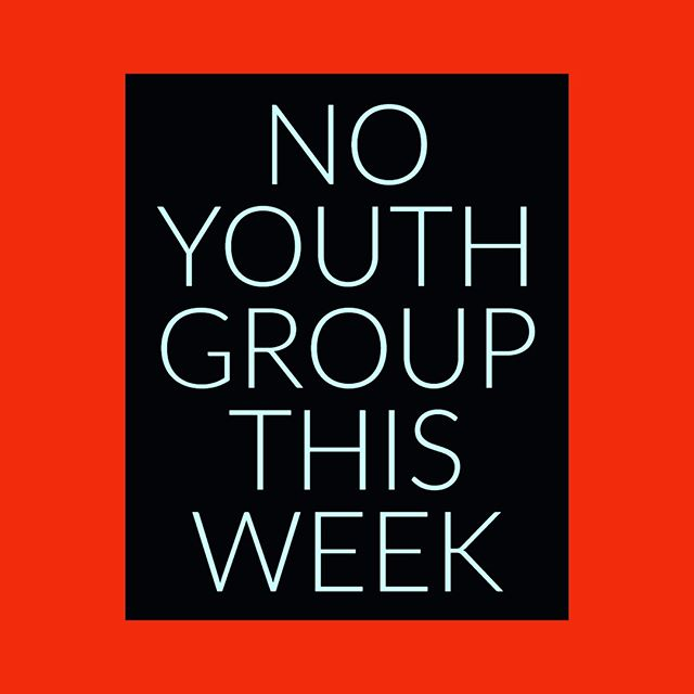 Hey everybody, there will be no youth group this week because of spring break! Enjoy your week off!