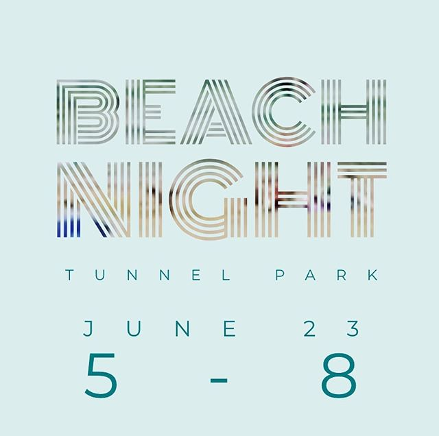 We have a beach night tomorrow. Sunday night at Tunnel Park from 5-8. Hope to see you there!