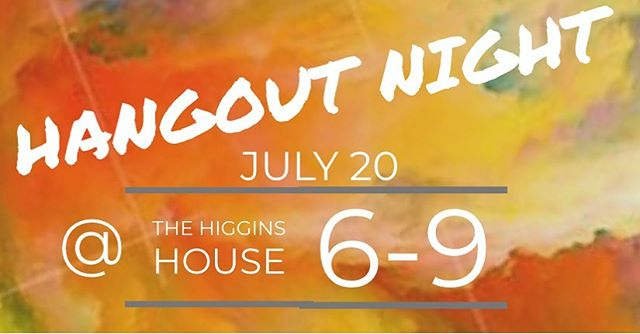 The hangout night is tonight. Hope to see you all there. The address is 3152 Marcia Ln Hamilton, MI  49419