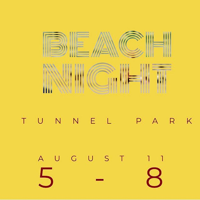 We've got another beach night this Sunday. From 5-8 at tunnel park. Hope to see you all there