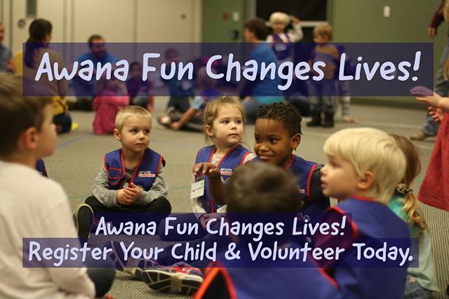Sign up your clubber and register to volunteer at www.calvaryb.org or at the Calvary cafe Connection Center. Be a life changer! Awana kickoff is September 4.
