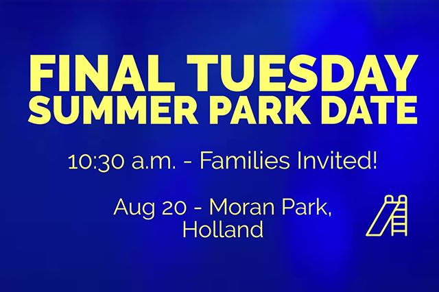 Join us for the final summer park date!