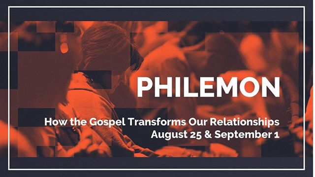 Have you every experienced broken relationships? We all have! Don't miss part two of our study in the book of Philemon this Sunday. Find out how the gospel can and should mend our broken relationships.