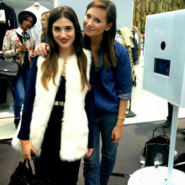 me and Danielle Bernstein from WeWoreWhat