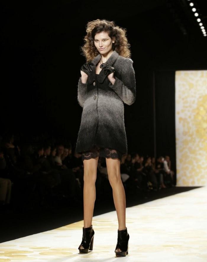 NYFW Desigual Fashion Show Fall/Winter 2014 Louboutins and Love Fashion Blog