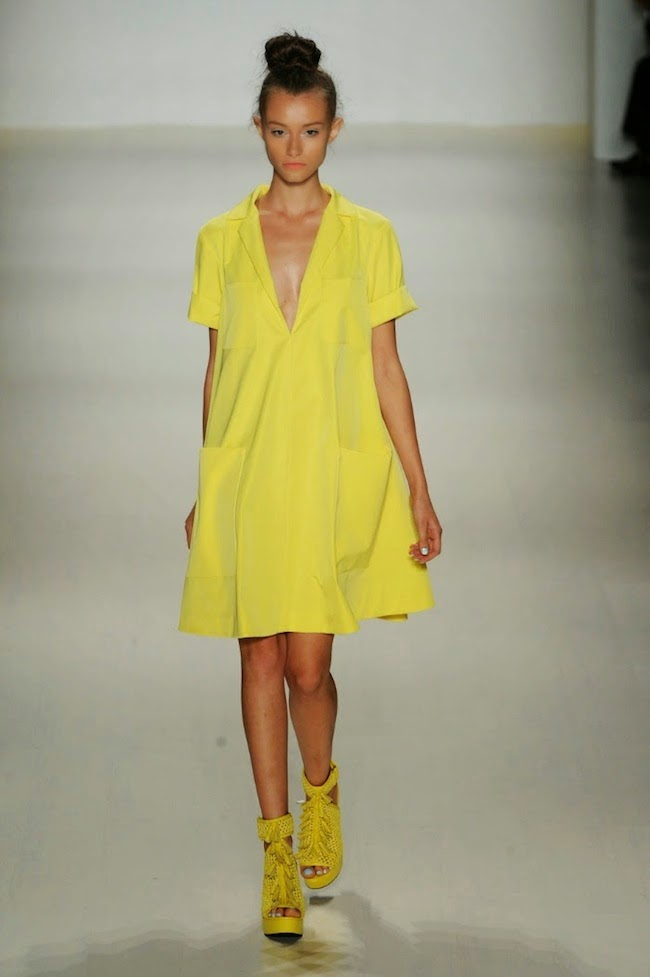 NYFW Nanette Lepore Fashion Show Summer/Spring 2015 - Louboutins and Love Fashion Blog by Esther Santer