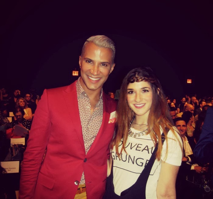 me and Jay Manuel, former ANTM creative director