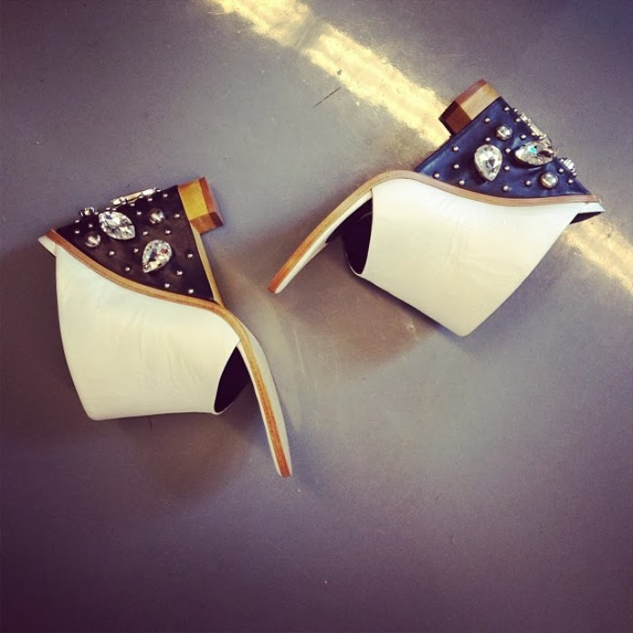 Britt Crystal Mile Wedges by Tibi - Louboutins and Love Fashion Blog