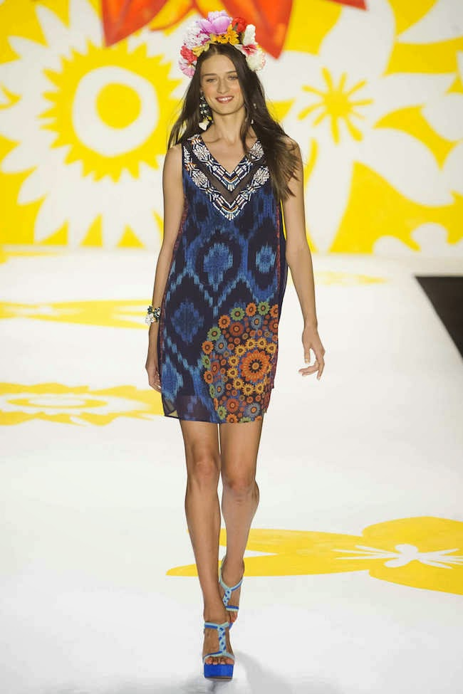 NYFW Desigual Fashion Show Summer/Spring 2015 - Louboutins and Love Fashion Blog by Esther Santer