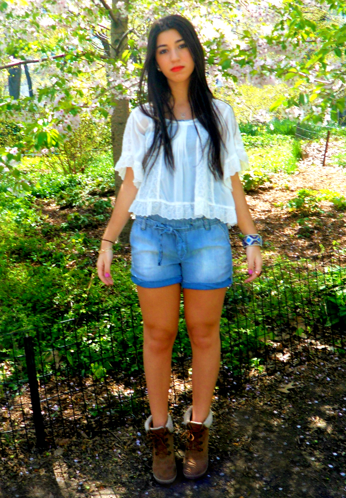 one+jean+romper,+two+ways+to+wear+it+louboutins+and+love+fashion+blog+personal+style+lifestyle+white+shirt+ruffles+blue+denim+fur+booties+shoes+red+lips+brunette+central+park+beautiful+pretty+model+jewelry+bracelet+.png