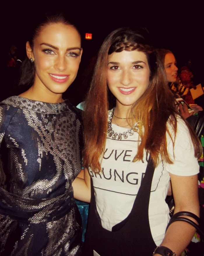 me and Jessica Lowndes from 90210