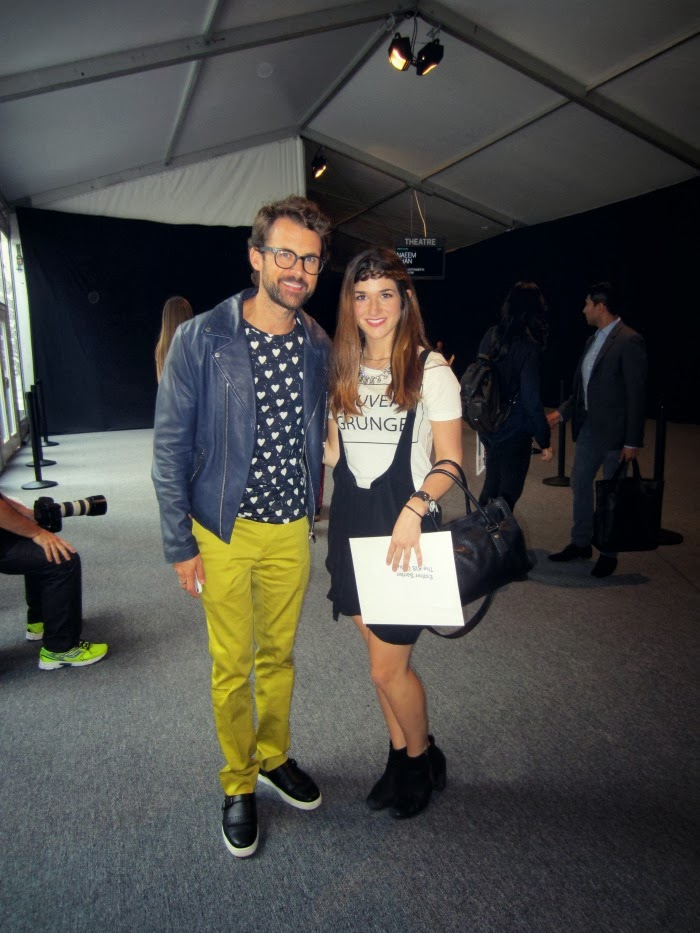 me and Brad Goreski, celebrity stylist