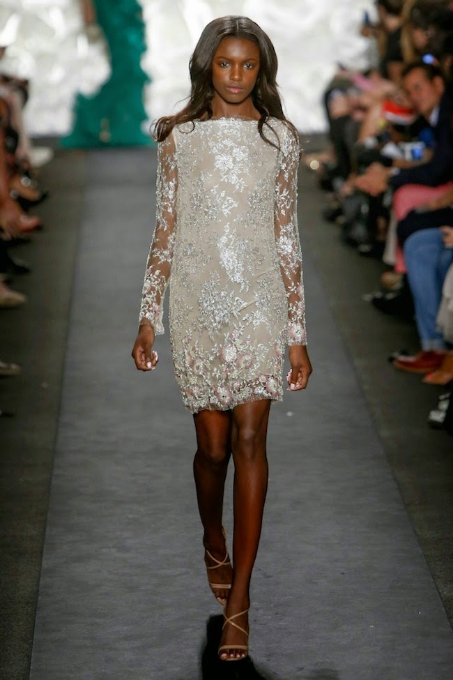 NYFW Naeem Khan Fashion Show Summer/Spring 2015 - Louboutins and Love Fashion Blog by Esther Santer