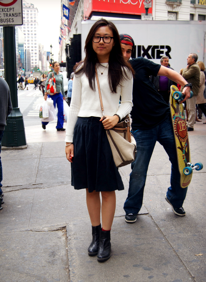 NYC+street+style+leather+and+plaid+louboutins+and+love+fashion+blog+manhattan+black+dress+sneakers+pants+outfit+ootd+blonde+brunette+shopping+girl+women+vintage+varsity+accessories+clothing+trends+tops+runway+nyfw+backpack+chic+look+navy+skirt+pleats.png