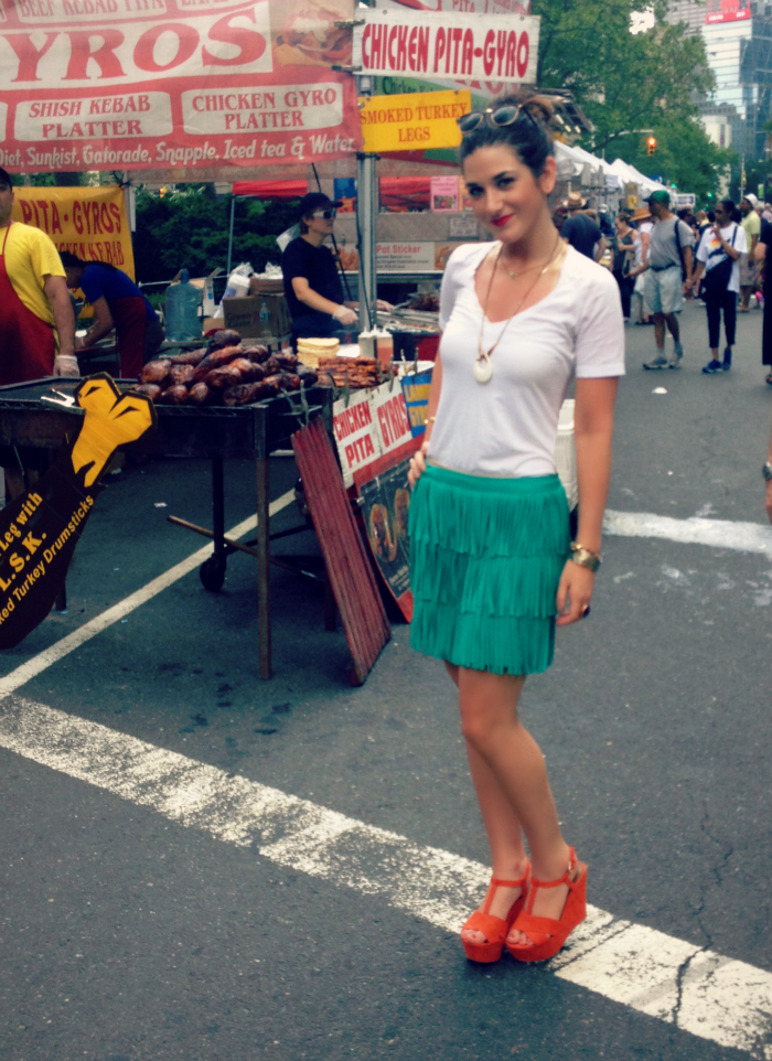 green+fringe+and+red+wedges+louboutins+and+love+fashion+blog+personal+style+clothes+dresses+skirt+shirt+white+model+brunette+jewelry+necklace+bracelet+pleats+accessories+trends+summer+spring+photoshoot+beauty+heels+shoes+ring+street+trendy+event+nyc.png