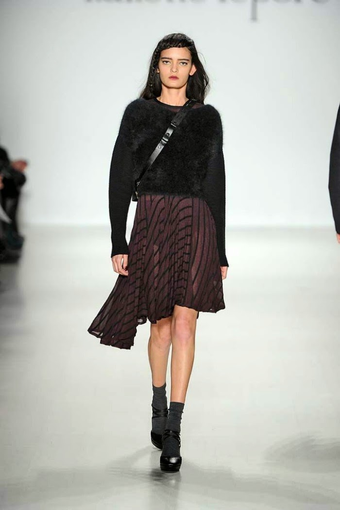 NYFW Nanette Lepore Fashion Show Fall/Winter 2014 - Louboutins and Love Fashion Blog