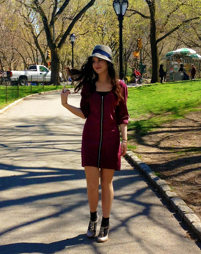 fedoras+and+zippers+louboutins+and+love+fashion+personal+style+blog+dress+red+maroon+silver+shoes+heels+gray+legs+hat+esther+santer+nyc+trend+summer+spring+2013+outfit+inspiration+model+photoshoot+hair+central+park+ruffles+glitter+photography+socks.jpg