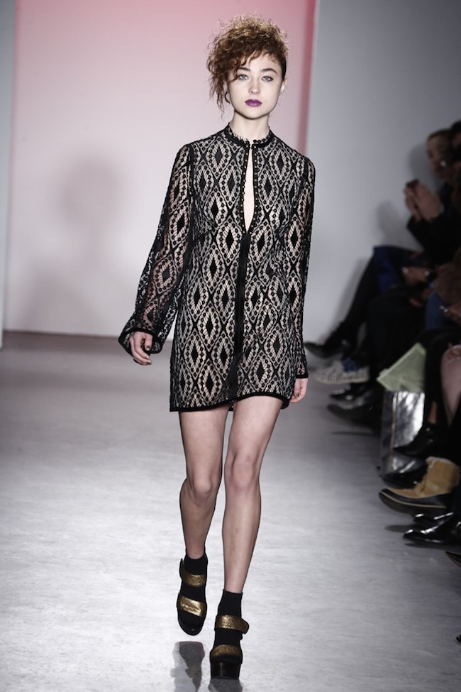 NYFW Nanette Lepore Fashion Show and After Party Fall/Winter 2015 - Louboutins and Love Fashion Blog by Esther Santer