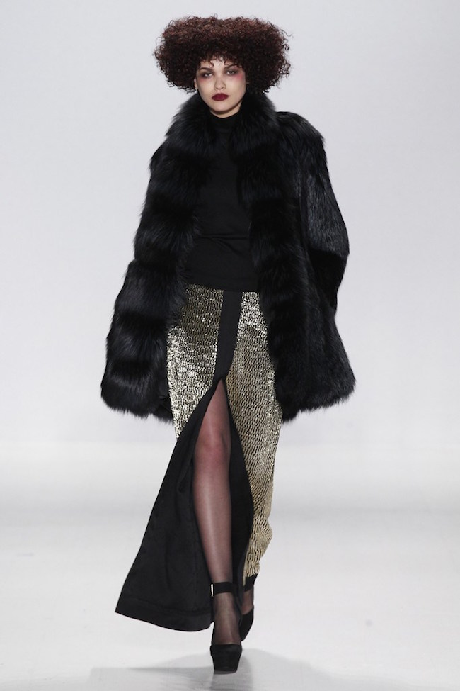 NYFW Georgine Fashion Show Fall/Winter 2015 - Louboutins and Love Fashion Blog by Esther Santer