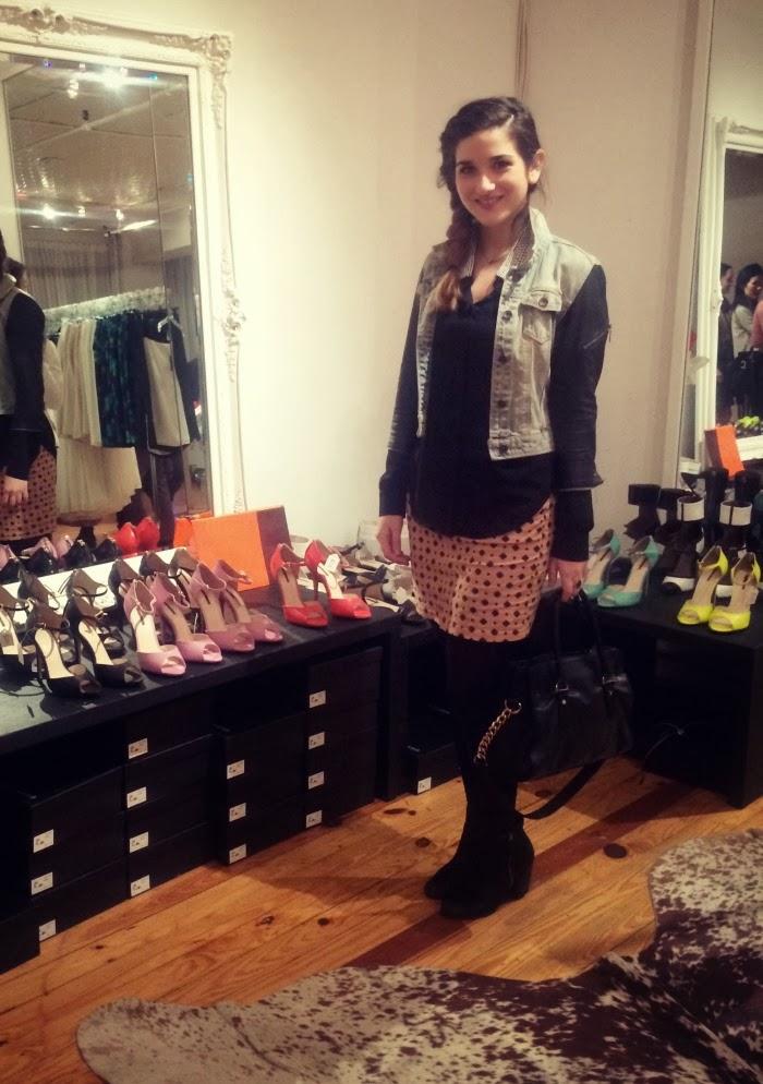 Marissa Webb's Studio and the Nylon Magazine Express Event -Louboutins and Love Fashion Blog