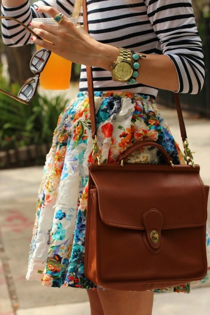 bold+stripes+and+bright+colors+red+supergas+blue+and+white+green+collar+neon+flowers+floral+yellow+ring+louboutins+and+love+floral+bag+purse+camel+watch+glasses.jpg