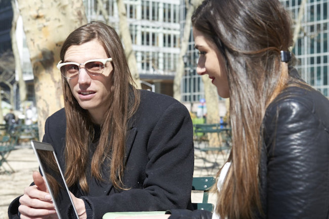 Meet the Man in the Ralph Lauren Ads Ian Mellencamp Louboutins and Love Fashion Blog Esther Santer Model Off Duty Musician Calvin Klein Tom Ford Gap Photoshoot Kyle Aaron Lacey White Dress Sunglasses Vintage Outfit Street Style NYC Interview Long Hair.jpg