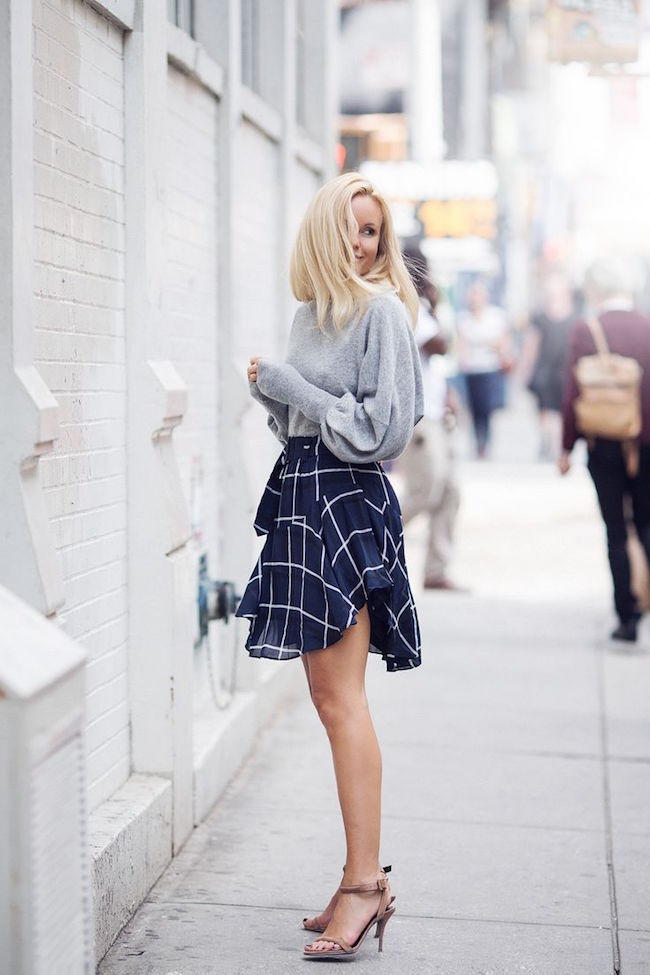 Best of Pinterest Summer Style Louboutins & Love Fashion Blog Esther Santer Hair Women Inspo Street Style Fashion Photography Repin Glam Obsessed Look Wearing Inspiration NYC NYC Blogger Jacket New York Topknot Ponytail Leather Straps Grey White Black.jpg