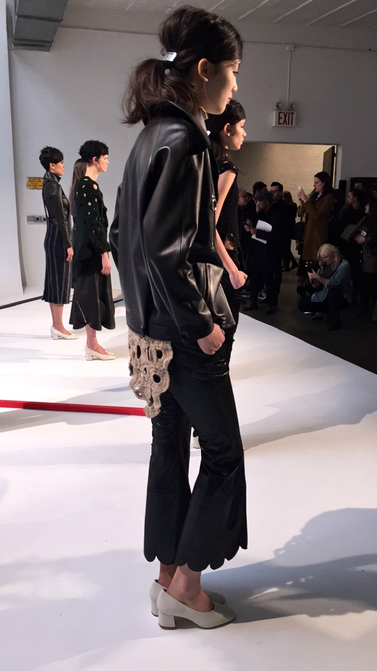 NYFW A Moi Fashion Presentation Fall:Winter 2016 Louboutins & Love Fashion Blog Esther Santer NYC Street Style Runway Models Collection Press Coverage Photos Details Dress Gown Beautiful Gorgeous Stunning Pretty Shop New York City Celebrities 2.JPG