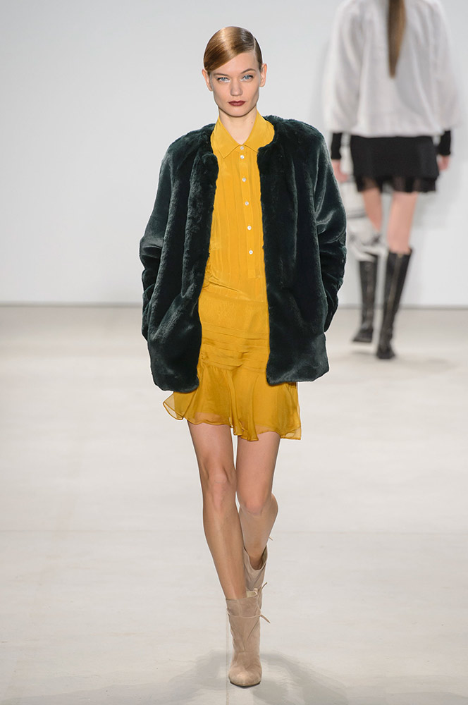 NYFW Marissa Webb Fashion Presentation Fall:Winter 2016 Louboutins & Love Fashion Blog Esther Santer NYC Street Style Runway Models Collection Press Coverage Photos Details Dress Gown Beautiful Gorgeous Stunning Pretty Shop New York City Celebrities 6.jpg